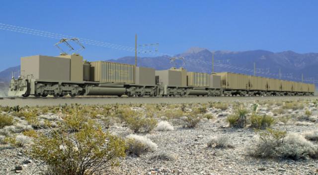 ARES-rail-train